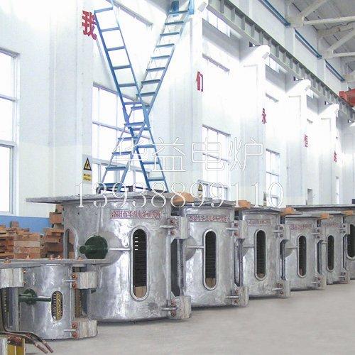 中频熔炼炉装料的顺序操作要点