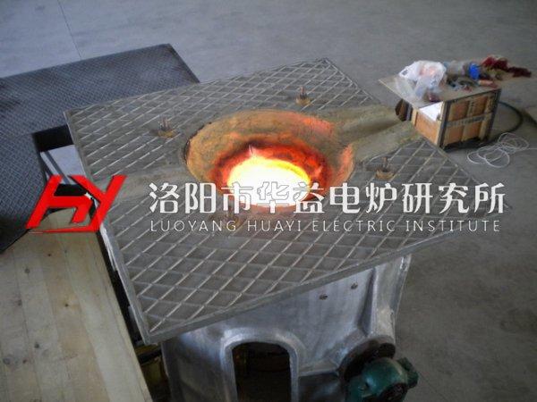 中频熔炼炉加料操作有哪些注意
